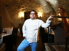 Jan Punčochář, šéfkuchař a zároveň spolumajitel restaurace Le Terroir.