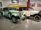 Olomoucké muzeum Veteran Arena rozšířilo svou sbírku unikátních automobilů...