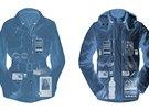 Vlevo pánský trenčkot s 19 kapsami, vpravo pánská bunda Revolution Plus s 26...