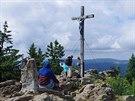 Vrchol Roklanu (1 453 m)