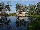 Z tvorby Atelieru 8000. Rybníky a chaty Dobčice