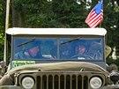 Ve Velichovkách si připomněli 69. výročí americké mise, která přivezla...