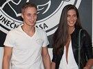 Aneta Vignerová a fotbalista Michal Zeman