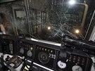 V Soulu se srazily dva vlaky metra (Jižní Korea, 2. května 2014).