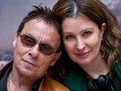 Režisérka Irena Pavlásková a Jan Saudek, který jí pomáhal se scénářem, se potkali na natáčení.
