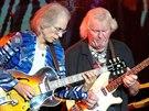 Steve Howe (vlevo) a Chris Squire z kapely Yes