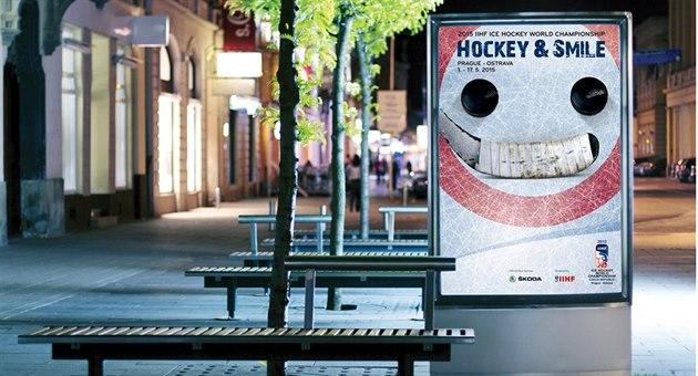HOKEJOVÉ �ESKO . Prahu, Ostravu i dal�í m�sta zaplaví usm�vavá reklama na MS...