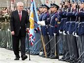 Slavnostní akt u příležitosti 69. výročí od konce druhé světové války na...