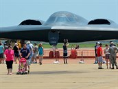 Strategický bombardér B-2 Spirit na letecké show na základně Barksdale v...