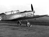 Arado Ar 396 v barvách Luftwaffe na továrním letišti firmy Letov, výr. č. 460001, kód NS+OA.
