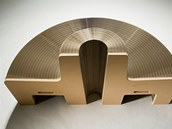 Konstrukce dovoluje vytv��et r�zn� tvary podle pot�eby.