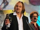 Zlatého ledňáčka si z televizních projektů v kategorii drama odnesl Jan Pachl...