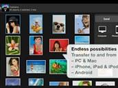 Aplikace PhotoSync – Wireless Transfer zajistí přenos fotografií ze smartphonu...