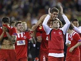 JSME VE FINÁLE. Ale byla to klika.. Fotbalisté FC Sevilla si zahrají o triumf v