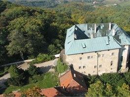 Brána pekelná se nachází na hradě Houska