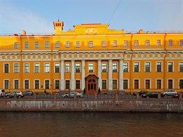 Jusupovský palác, Petrohrad (Rusko)