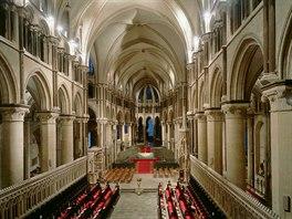 Canterburská katedrála, Kent (Velká Británie)