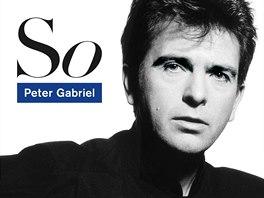 Obal nejslavnější desky Petera Gabriela So z roku 1986.