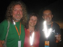 Coloours of Ostrava 2006: Robert Plant a jeho kytarista Justin Adams se