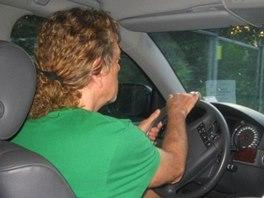 Colours of Ostrava 2006: Robert Plant se představil i jako vášnivý řidič.