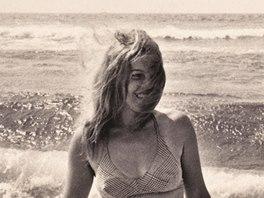 Vladimíra Čerepková v roce 1977 na Cote Basque