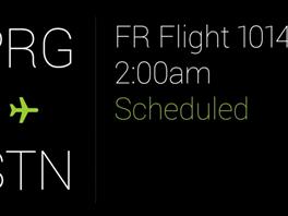 Google projede, které lety máte naplánované (elektronická letenka mi přišla na...