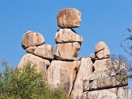 """Symbolem národního parku Matopos je """"Matka a dítě""""."""