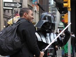 Temná strana síly Dartha Vadera v New Yorku ztrácí, město je nejbezpečnější z...