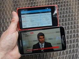 Aplikace O2 TV GO pro sledov�n� televize v mobilu