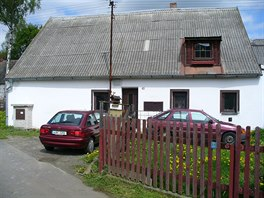 P�vodn� vzhled rodinn�ho domu, kter� byl z�ejm� postaven� v meziv�le�n�m...