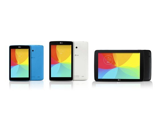 LG G Pad 7.0, 8.0 a 10.1