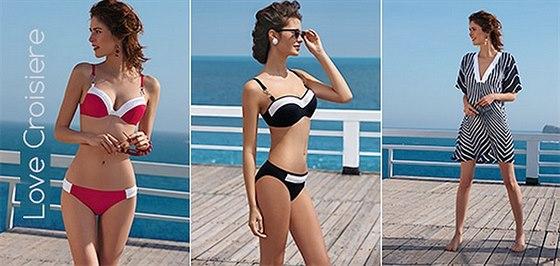 Helena Konarovská radí, jak si vybrat správné plavky