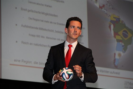 Mag. Markus Sevcik (Vice President J.P. Morgan Asset Management) během své...