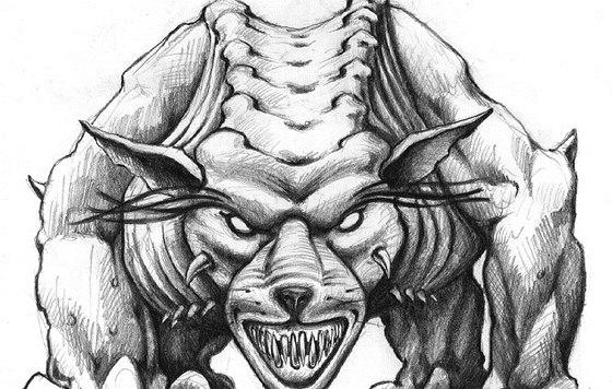 Ilustrace jednoho z protivníků