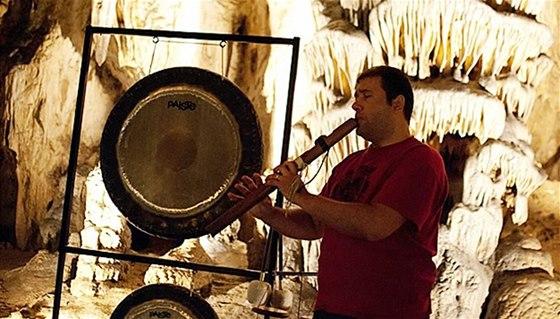 Koncert v Sloupsko-šošůvských jeskyných