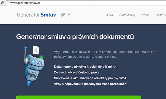 Generátorsmluv.cz