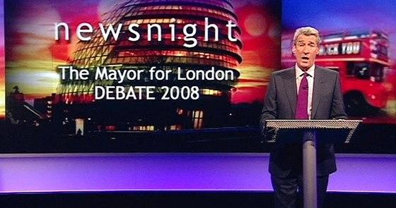 V po�adu Newsnight p�sobil Paxman od roku 1989.