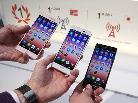Huawei Ascend P7 premiéra v Paříži