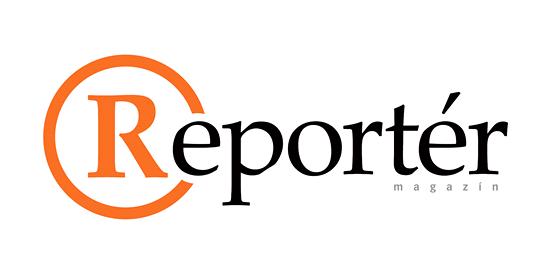 Logo magazínu Reportér