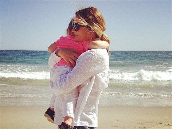 Drew Barrymore s dcerou Olivií