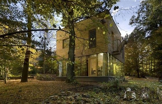 Architektonická kancelář Sporadical: Dům je situován v nejvyšší části severního