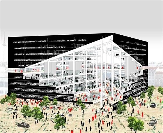 Nové berlínské sídlo vydavatelství Axel Springer vznikne podle návrhu...