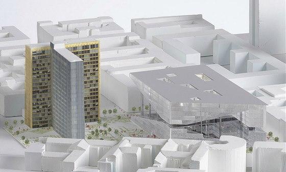 Nedaleko parcely, kde bude nové sídlo vydavatelství stát, vedla Berlínská zeď.