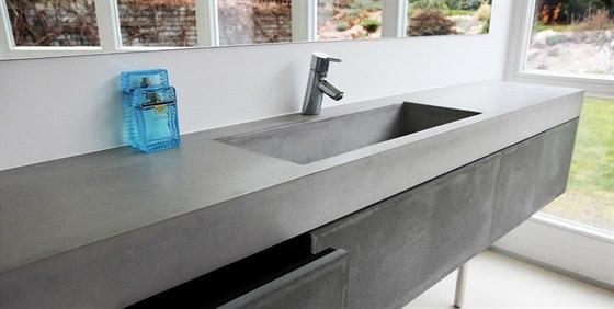 Betonové umyvadlo chápe Gravelli jako klíčový prvek každé koupelny a mělo by...