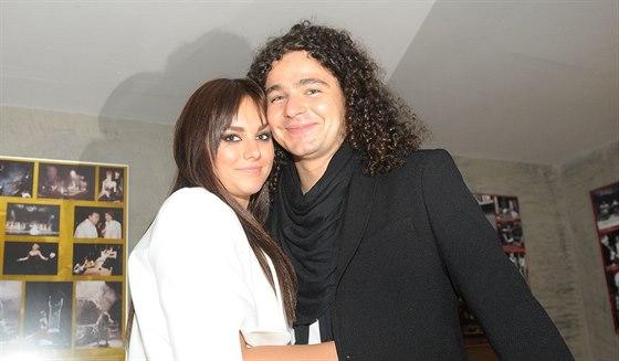 Ewa Farna a Martin Chobot na cenách Anděl (14. května 2014)