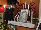 Rodina a kolegové se v Mělníku naposledy rozloučili s policistkou Petrou Z.,...