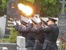 Rodina a kolegov� se v M�ln�ku naposledy rozlou�ili s policistkou Petrou Z.,...