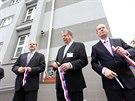 Úterní slavnostní otevření Národního centra kybernetické bezpečnosti v Brně se...