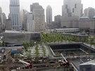MÍSTO TERORU. Muzeum 11. září 2001 stojí na prostranství, kde kdysi stávaly...