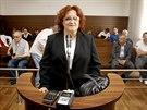 Bývalá ministryně obrany Vlasta Parkanová při jednání Městského soudu v Praze....